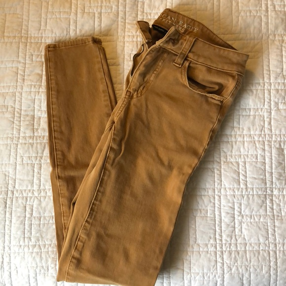 American Eagle Outfitters Pants - American Eagle Tan Jeggings